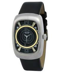 EOS New York W110SBLK Men`s Speaker watch, black