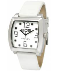 Klockor - Modeklocka från EOS New York Men's 131LWHT Syntax Leather Strap Watch