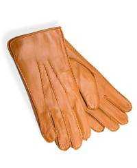 1002 Women`s Leather Gloves, cognac