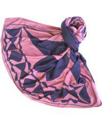 Mode - BrianneFaye 2013 ARTWORK SCARF- BERRY/ WINE